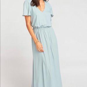 Michelle Flutter Maxi Dress